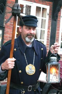 Join Ribe's Night Watchman for a free guided evening tour in Ribe old town
