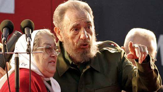 La activista y defensora por los derechos humanos destacó en el líder histórico de la Revolución cubana su humildad y sencillez. Foto: Archivo.