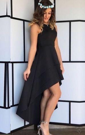 Kat Kat Asimetrik Elbise
