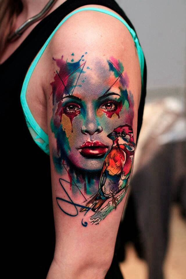 Awesome Water Colour Tattoos Pinterest Color Tattoo Tattoos