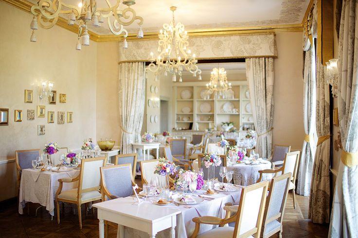Flowers and design: La Florista -  ww.laflorista.cz  Photography: Stepan Vrzala - www.stepanvrzala.com  Read More: http://www.stylemepretty.com/destination-weddings/2015/02/16/elegant-czech-chateau-wedding/