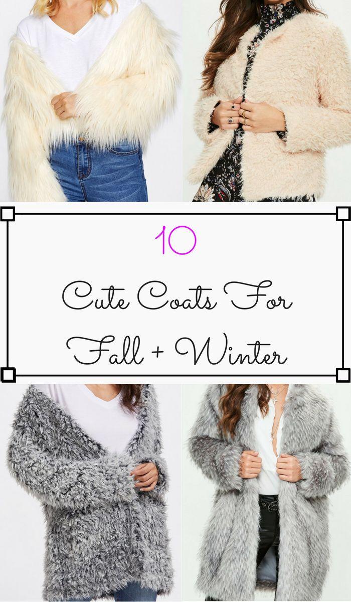 10 Best Coats for Fall + Winter 2017! | Women's Fashion [affiliate]