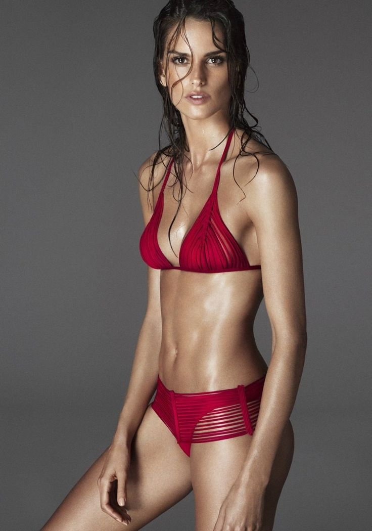 Izabel Goulart lingerie La Perla