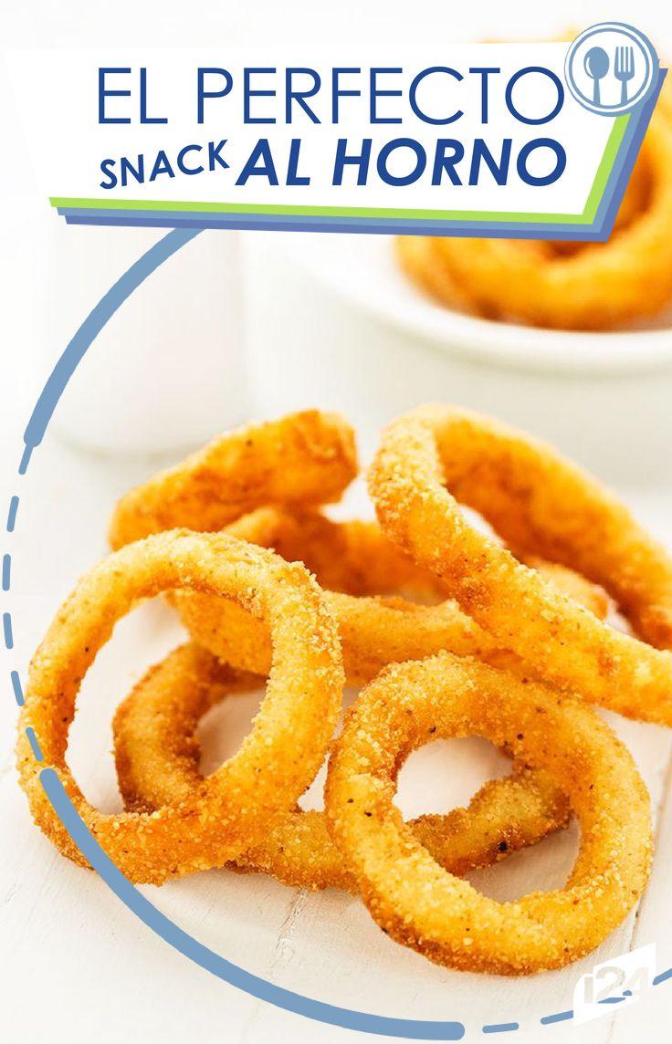 Con estos aritos de manzana horneados, quedarás enamorada de su sabor. ¿Lista para poner manos a la obra? #Cocina #Receta
