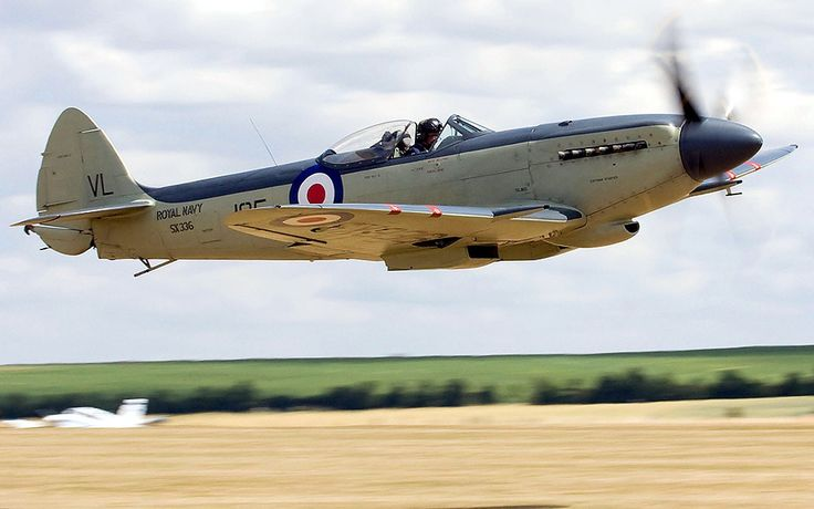 Vintage Airplanes | Aircraft Vintage Airplanes Fighter Britain Spitfire Warbird Fresh ...