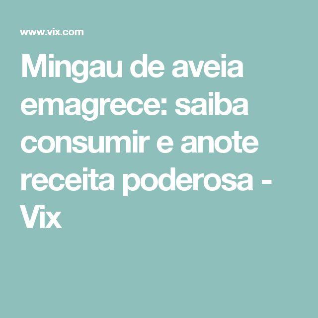 Mingau de aveia emagrece: saiba consumir e anote receita poderosa - Vix