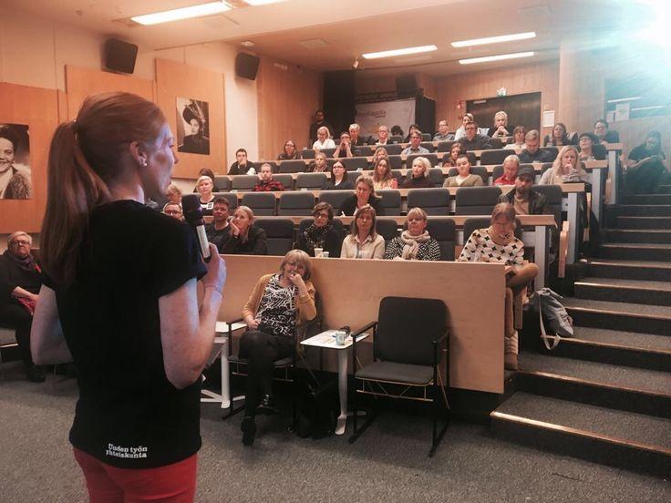 Yrittäjyysklubin lähtölaukaus Kasvustartissa. Huh mikä hieno joukko! @Mediapolis Tampere