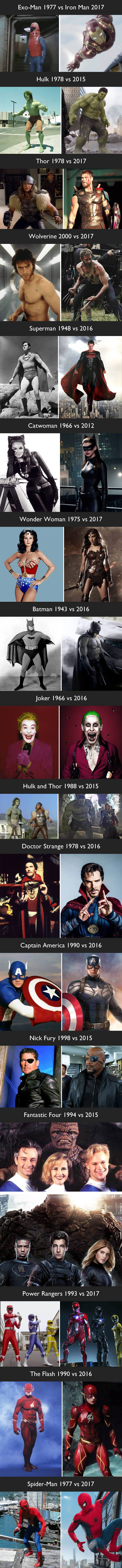 The Evolutions Of Superheroes Break The Old Is Gold Theory