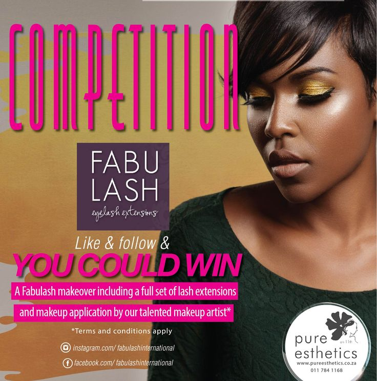 STAND A CHANCE TO WIN A FULL FABULASH MAKEOVER* Like us on Facebook: http://www.facebook.com/fabulashinternational#utm_sguid=163605,784abdaf-4715-8894-091a-a47887699eb4 Follow us on Instagram: fabulashinternational LIKE and FOLLOW US on both platforms and COMMENT on this post to let us know what is the beauty treatment you cannot live without and stand a chance to win a Full Fabulash makeover* The more you share this post the greater your chance of winning *Terms and conditions apply; Prize…