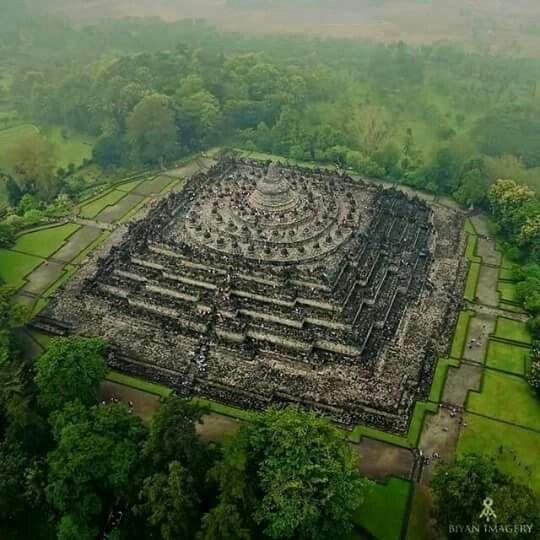 Borobudur Temple Magelang, Central Java