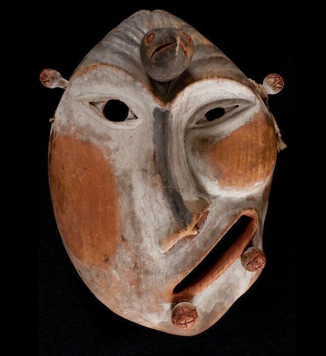Humanoid Yupik mask.