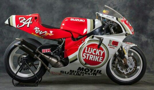 Suzuki RGV 500cc.  Kevin S. 34
