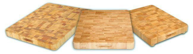 Small End Grain Chopping Block (End Grain Chopping Block) (Wood)