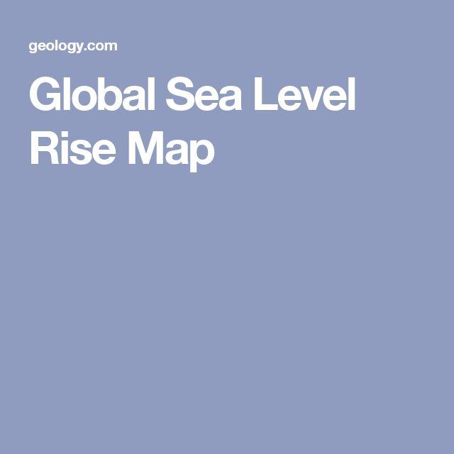 Global Sea Level Rise Map