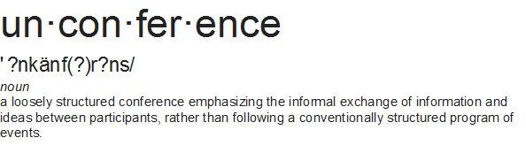 Unconference logo