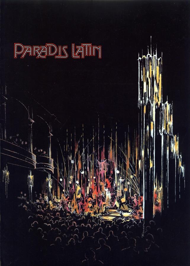 Un ancien visuel du Paradis Latin