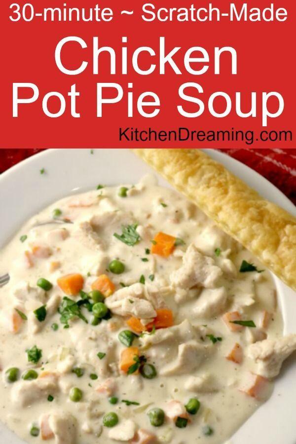 Chicken Pot Pie Soup Recipe Diabetic Pinterest Soup Recipes