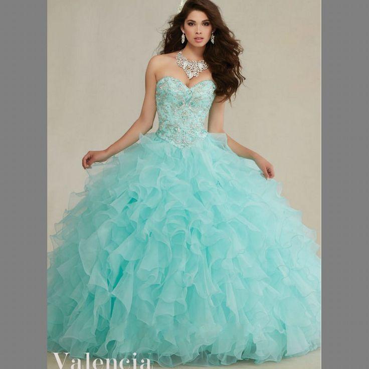 Delicate-Embroidery-Sweetheart-Aqua-Quinceanera-Dresses-2016-Ruffles-Organza-Beading-Birth-Ball-Gown-Sweet-16-Dress.jpg (800×800)