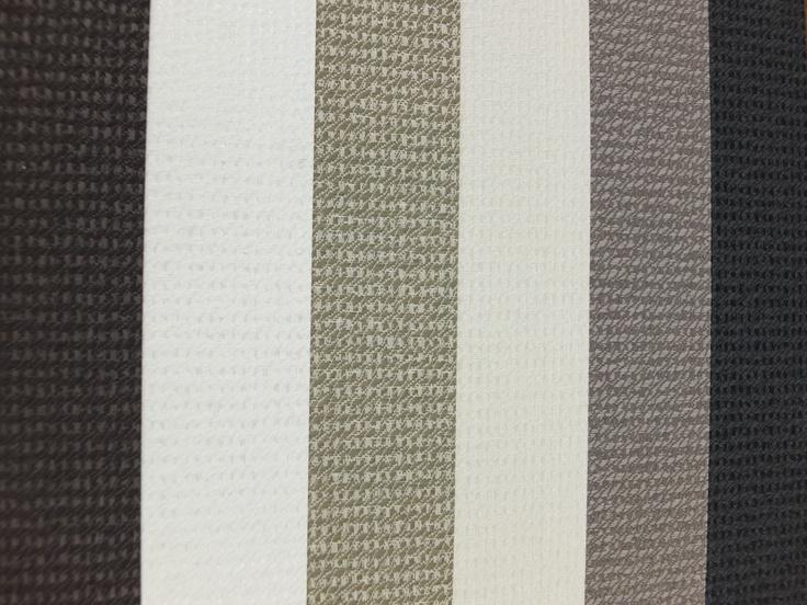 Fabrics Brocade Blackout. Fudge, Ivory, Birch, Natural, Mink, Charcoal.