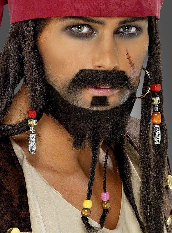 Piraten Bart Set und Piratenkostüme