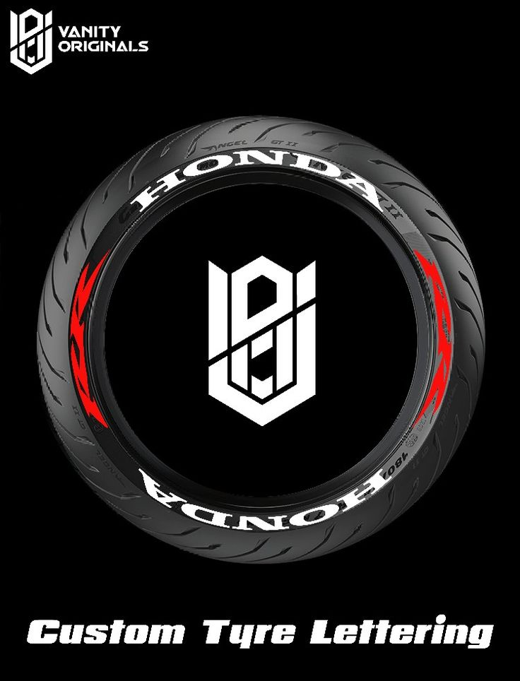 Pin by Vanity Originals on Custom Tire Lettering in 2020
