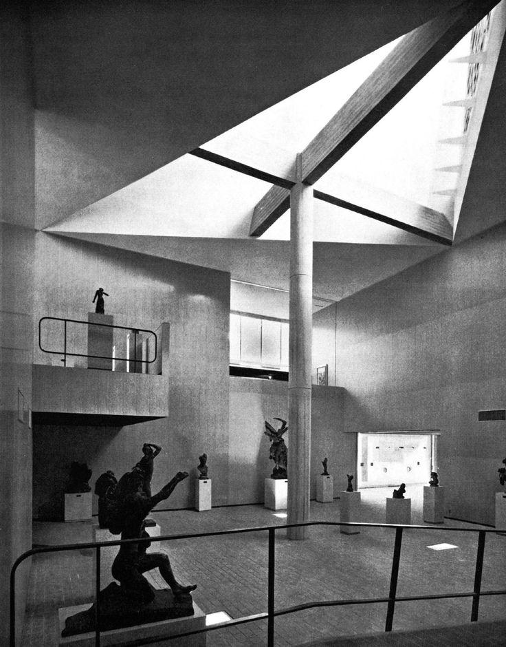 Le Corbusier, National Museum of Western Art, Tokyo, 1959.