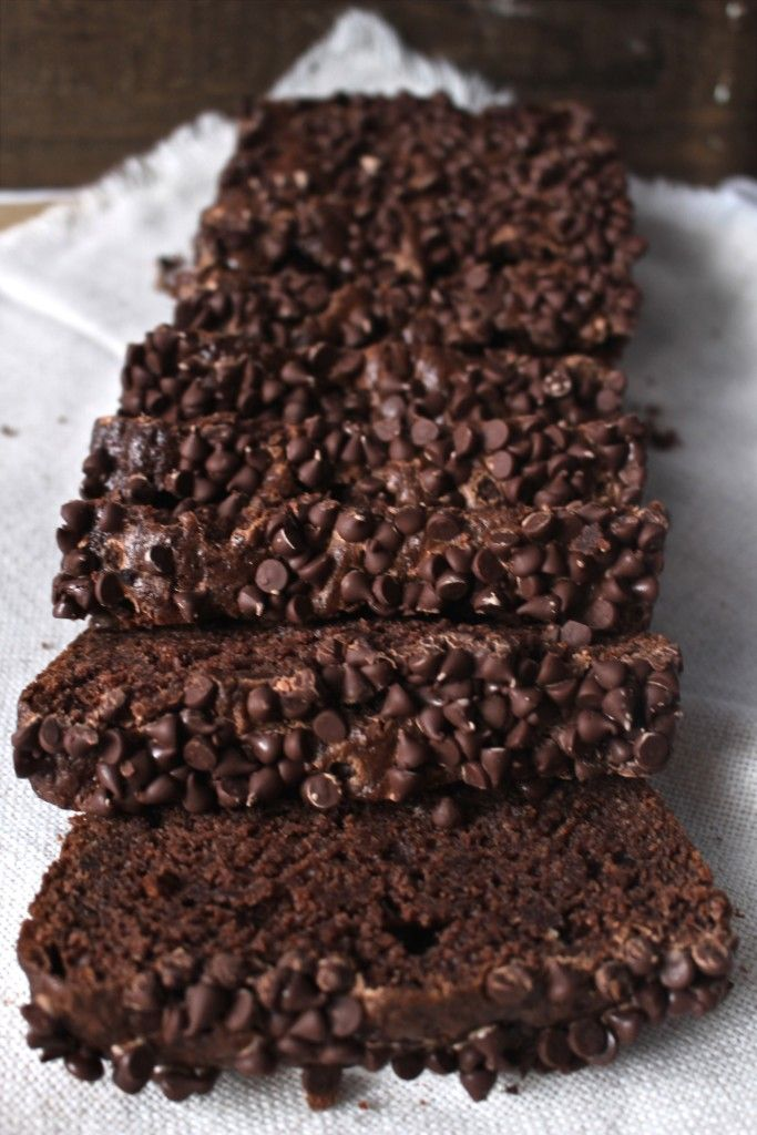Chocolate Brownie Bread- a delicious cross between a brownie and quick bread