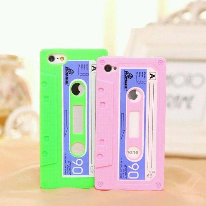 Funda para celular cassette