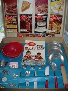 Betty Crocker Baking Set via My Vintage Toy Kitchens