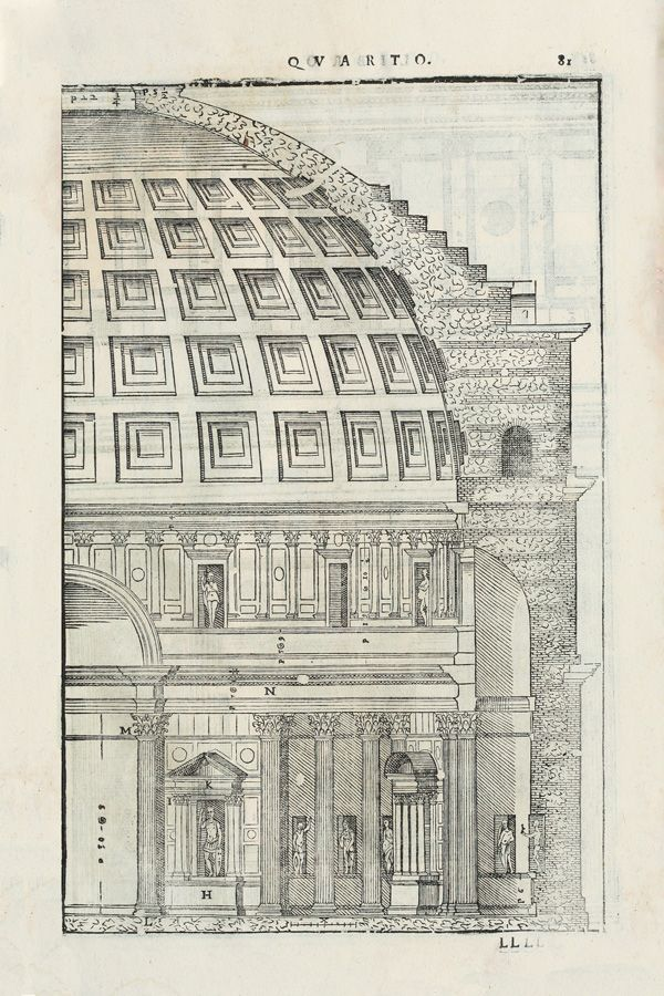 Roman Pantheon Vintage Architecture Illustration Digital Etsy In 2020 Vintage Architecture Architecture Illustration Ancient Architecture