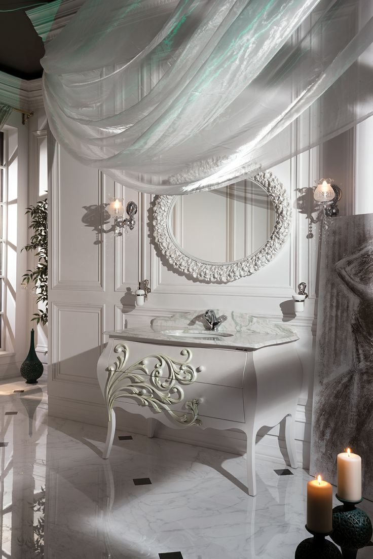 Topex Armadi Art Andante pearl bath vanity from our Classic Collection!