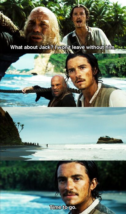 Pirates of the Caribbean: Dead Man's Chest - I like what Will says in the…
