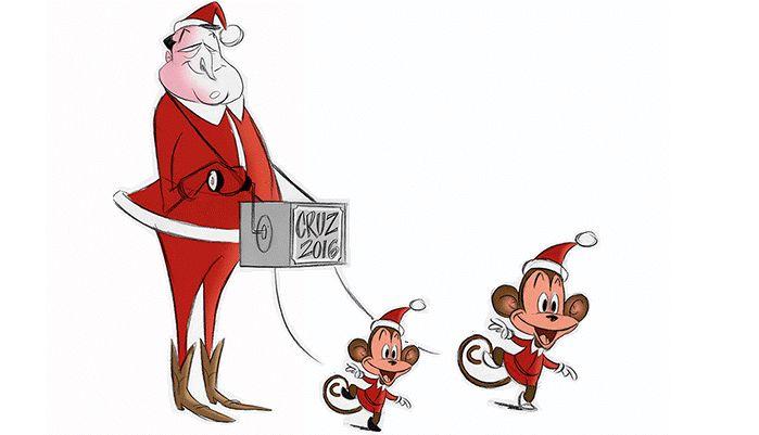 Offensive Cartoon Depicting Ted Cruz's Children as Monkeys Drawn by Planned Parenthood Award Winner http://www.lifenews.com/2015/12/23/cartoon-depicting-ted-cruzs-children-as-monkeys-drawn-by-planned-parenthood-award-winner/