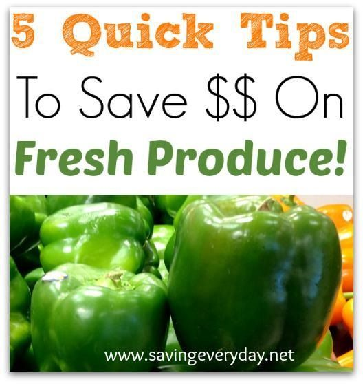 How To Save Money On Fresh Produce