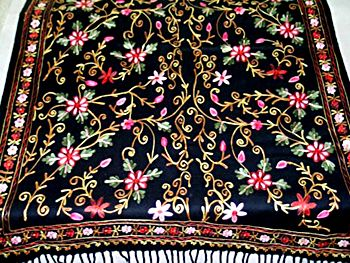 Kashmiri embroidery/ Kashida