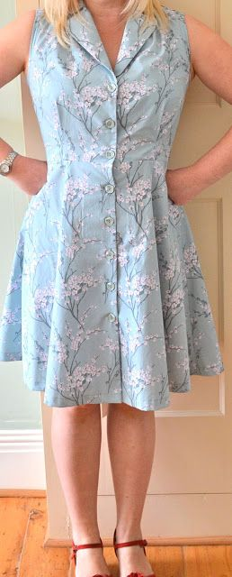 Handmade Jane: Sew Over It Vintage Shirt Dress