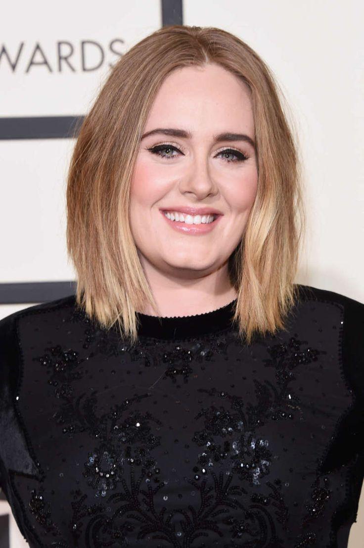 Adele at the 2016 Grammy Awards.