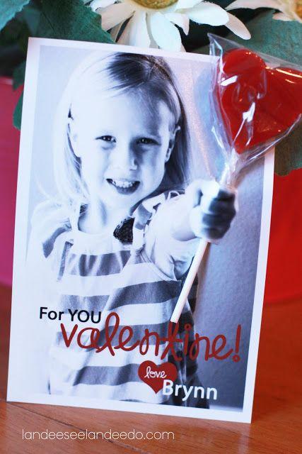 Valentine Photo Card Ideas - Landee See Landee Do