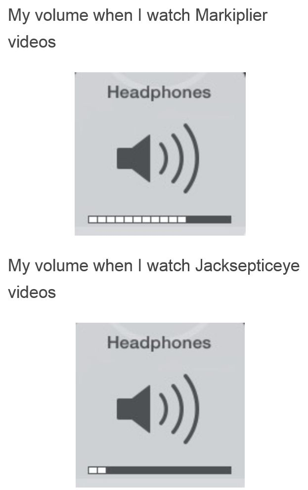 Only jacksepticeye fans will get it.... <--- It's so true though xD
