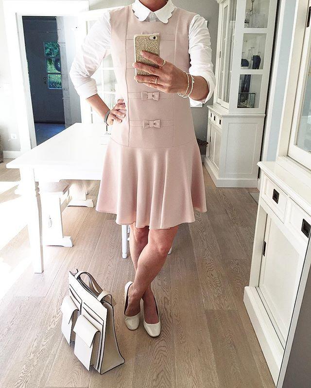 Noch ein schnelles OOTD 🎀 Ich treffe mich gleich mit eine liebe Freundin zum Sushi essen 😋😋😋 #OOTD #Outfit #whatiworetoday #zara #asos #simple #dress #rosa #pink #sweet #lookbook #lookofday #fashionaddict #fashionblogger #instagood
