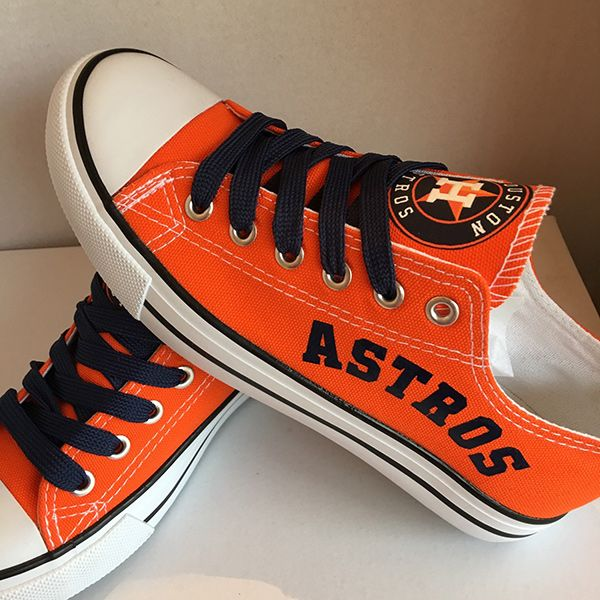 Houston Astros Canvas Sneakers - http://cutesportsfan.com/houston-astros-designed-sneakers/