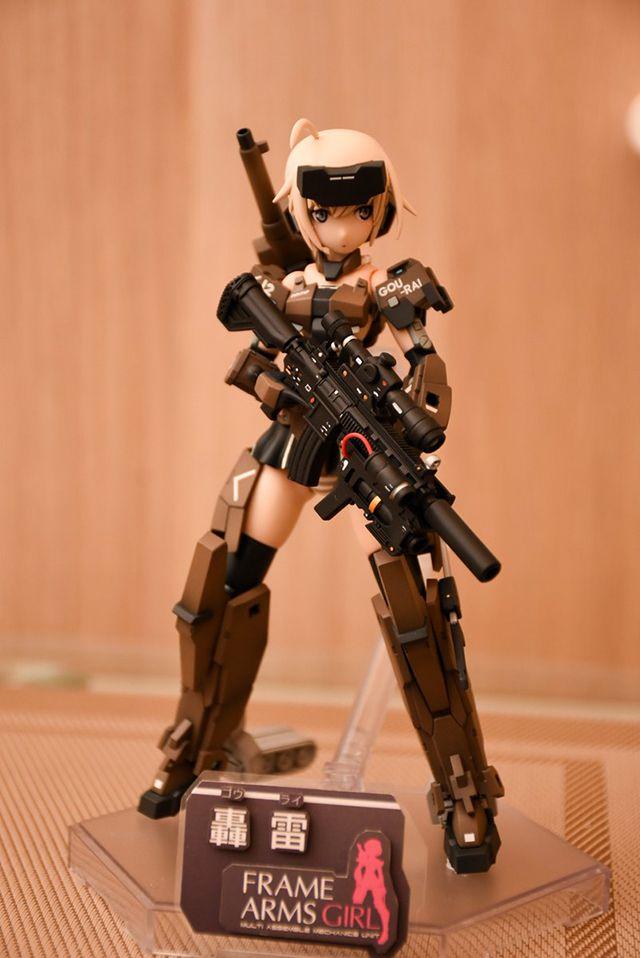 【科幻模界】Frame Arms Girl 轟雷