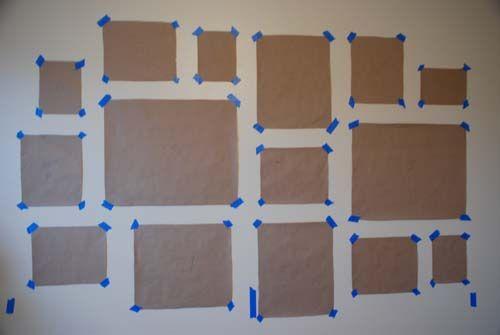 composición de la galería marco de la pared