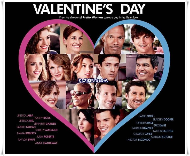 Valentine's Day (2010) 12A | 2hr. 4 min. | Comedy, Romance | 12 February 2010 (UK) A Love Story | valentine | valentine's day