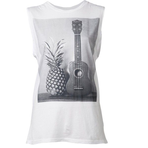 SUNDRY 'Ukelele' muscle t-shirt found on Polyvore