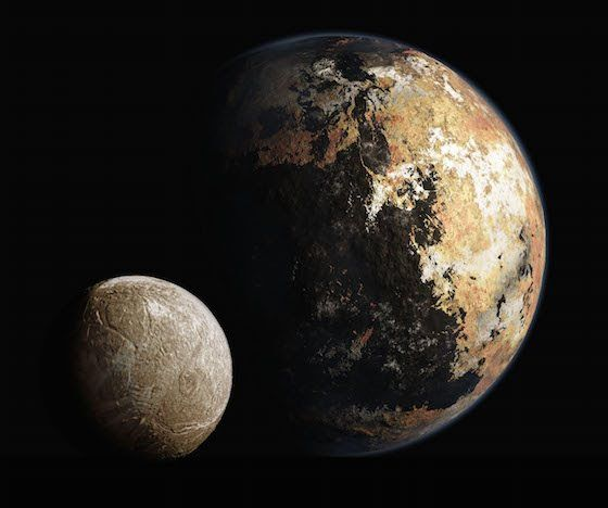 Kerberos Moon Of Plluto: 17 Best Images About Dwarf Planet Pluto On Pinterest