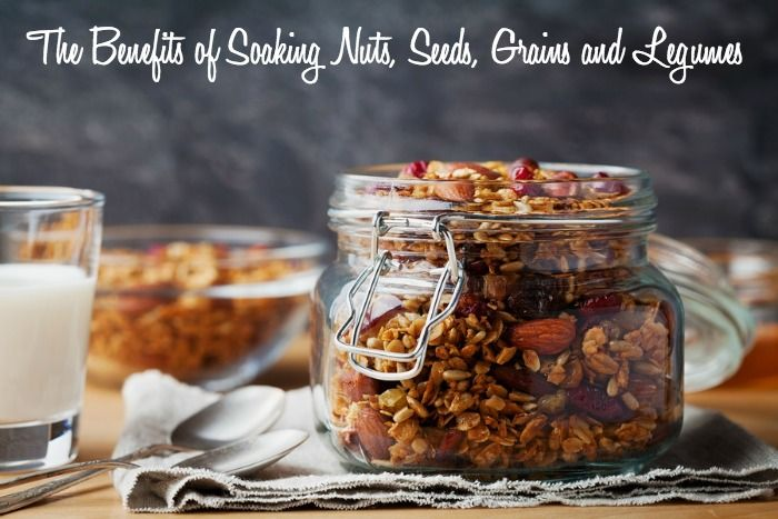 There are many benefits of soaking nuts, seeds, grains and legumes. Soaking these foods may sound intimidating, but it's actually very easy!