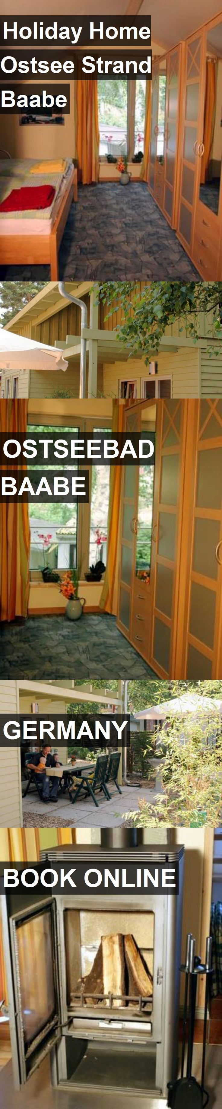 Hotel Holiday Home Ostsee Strand Baabe in Ostseebad Baabe, Germany. For more information, photos, reviews and best prices please follow the link. #Germany #OstseebadBaabe #travel #vacation #hotel