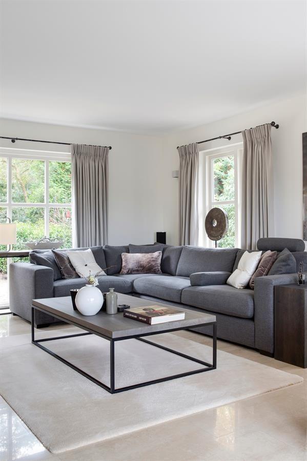 Stijlvol wonen is keijser co eigentijdse meubelen met een pure vormgeving waarbij alles - Eigentijdse design lounge ...