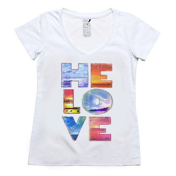 our surf tshirt for girls Helove: http://g2h.pl/damska-odziez/damskie-koszulki/bialy-damski-tiszert-helove